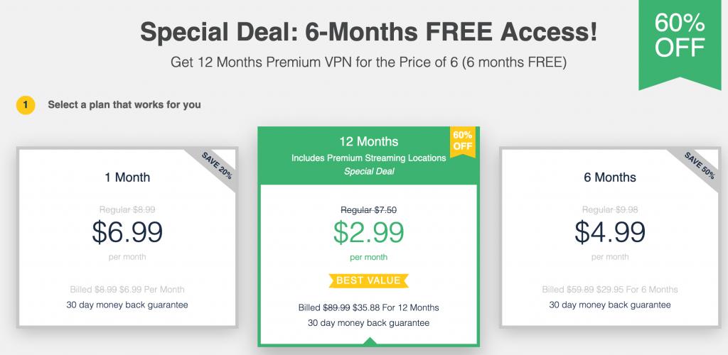 ultra vpn pricing