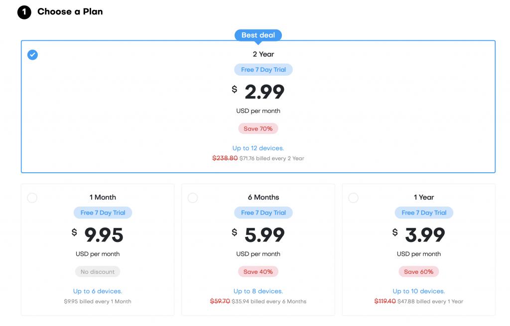 vpncity pricing